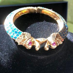 Betsy Johnson Fish bracelet